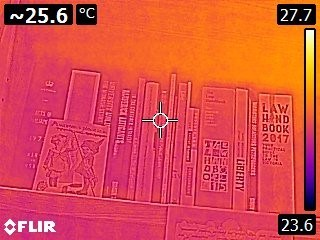 TSCM Thermal imaging
